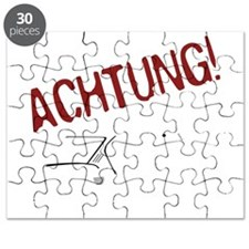 Achtung on black Puzzle