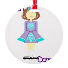 irishdancertee3 Ornament