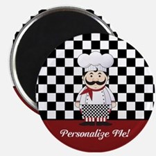 Personalized French Chef Magnet