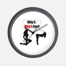 Whip it whip it good Wall Clock
