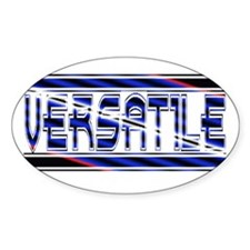 Leather pride Versatile Oval Decal
