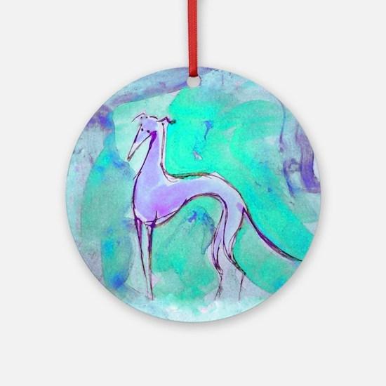 Blues Hound Ornament (Round)