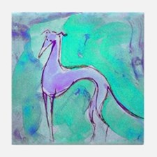Blues Hound Tile Coaster