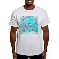 Blues Hound Ash Grey T-Shirt