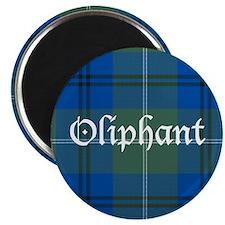 "Tartan - Oliphant 2.25"" Magnet (10 pack)"