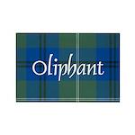 Tartan - Oliphant Rectangle Magnet (100 pack)