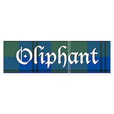 Tartan - Oliphant Bumper Sticker