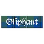 Tartan - Oliphant Sticker (Bumper 10 pk)