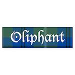 Tartan - Oliphant Sticker (Bumper 50 pk)