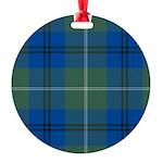 Tartan - Oliphant Round Ornament