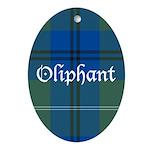 Tartan - Oliphant Ornament (Oval)