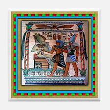 EGYPTIAN Tile Coaster #3