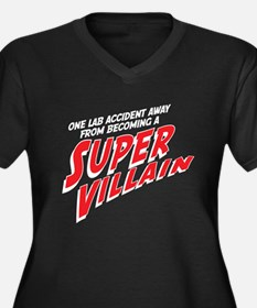 Super Villain Plus Size T-Shirt