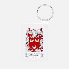 Oliphant Aluminum Photo Keychain