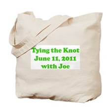 Tying the Knot  June 11, 2011 Tote Bag