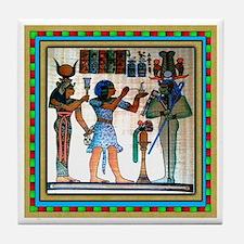 EGYPTIAN  Tile Coaster #1