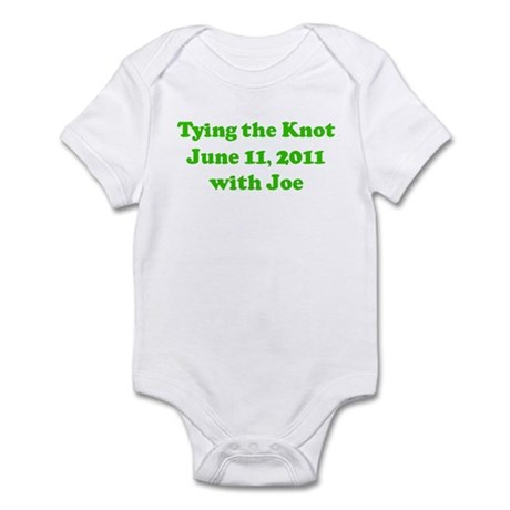 Tying the Knot June 11, 2011 Infant Bodysuit