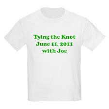 Tying the Knot  June 11, 2011 Kids T-Shirt