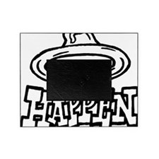 condom_happen_left_BW_green_yellow_s Picture Frame