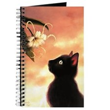Cat and Flower Journal