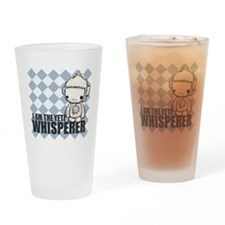 Yeti Whisperer Drinking Glass