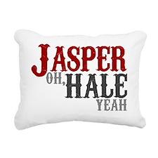 jasperhaleyeah Rectangular Canvas Pillow