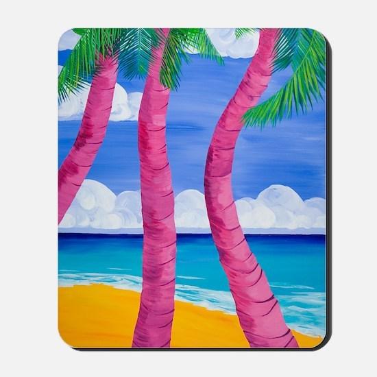 Coco palms Mousepad