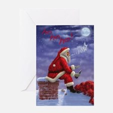 Cute Funny christmas Greeting Card