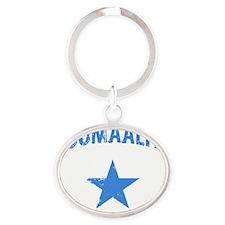 somaliaB Oval Keychain