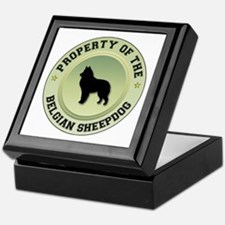 Sheepdog Property Keepsake Box