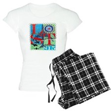 lost postage stamp torn goo Pajamas