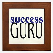 Success Guru Framed Tile