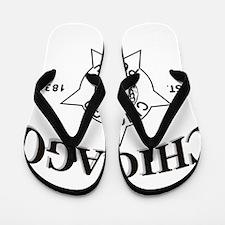 Chicago police Flip Flops