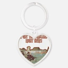Romans 13 at Lexington darks Heart Keychain