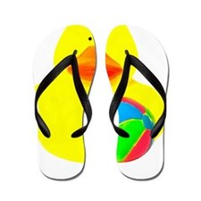 utochka3-miach Flip Flops