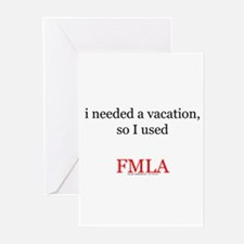 Fmla Greeting Cards (Pk of 10)
