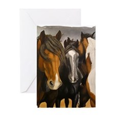 Storms Brewin Greeting Card