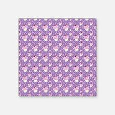 Purple Cupcake pattern Sticker