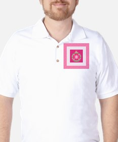 Christmas Ornament in Pink T-Shirt