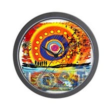 LOST OCEANIC SUNSET NEW copy Wall Clock