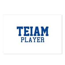Teiam Player Postcards (Package of 8)