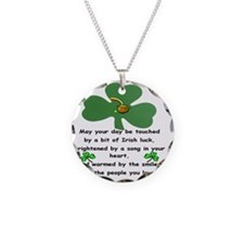 T-Shirt Irish Blessing Necklace