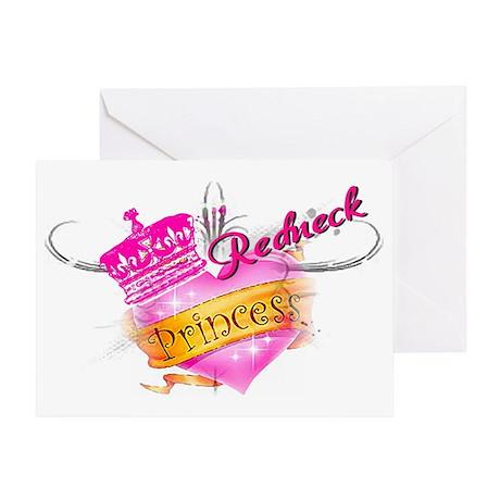 REDNECK PRINCESS Greeting Card