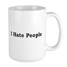 i hate people.bmp Mugs