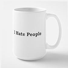 i hate people.bmp Mugs