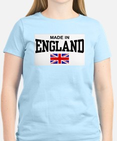 Made in England Women's Pink T-Shirt