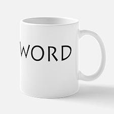 BirdisWORD Mug
