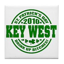 KEY WEST Drink up 10_p01 Tile Coaster