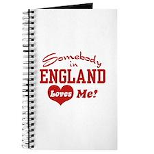 Somebody in England Loves Me Journal