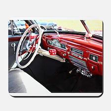 Classic car dashboard Mousepad